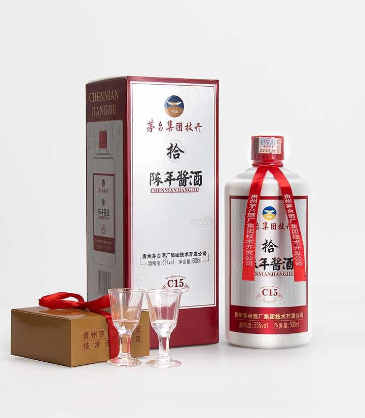 53°茅台技开陈年酱酒C15 500ml