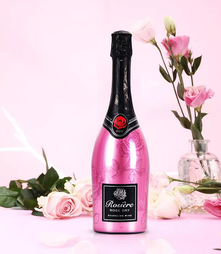 11.5°法国玫瑰桃红起泡葡萄酒750ml