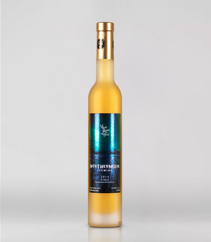 9.5°加拿大极地太阳2014维达尔白冰葡萄酒375ml