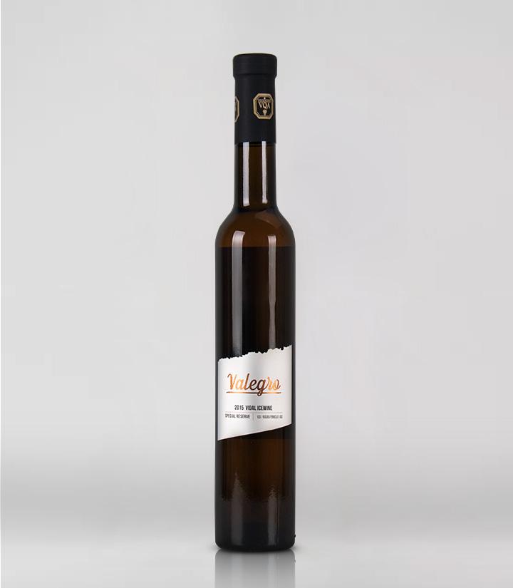10°加拿大黑马瓦莱格罗2015维达尔珍藏白冰葡萄酒375ml